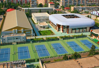 A new project on the territory of the Azerbaijan Republic Tennis Academy