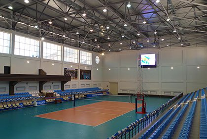 Training base of Igtisadchi volleyball club was put into operation