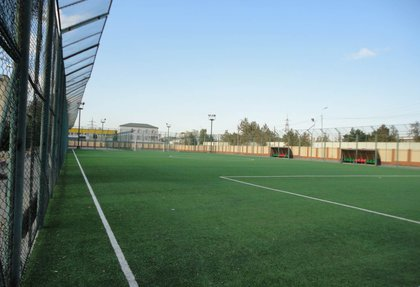 Football and Futsal field at the school № 201